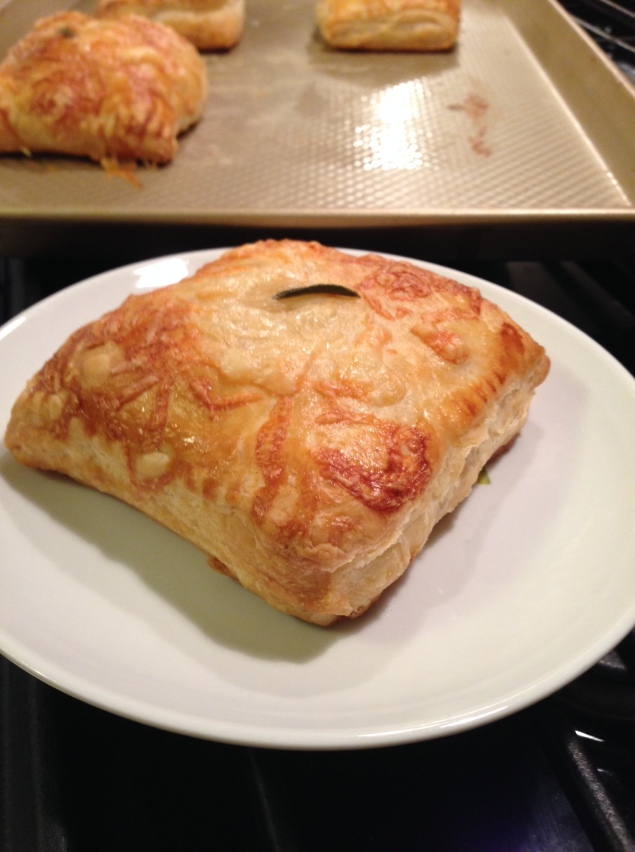 Lemony Turkey and Gruyere Pocket
